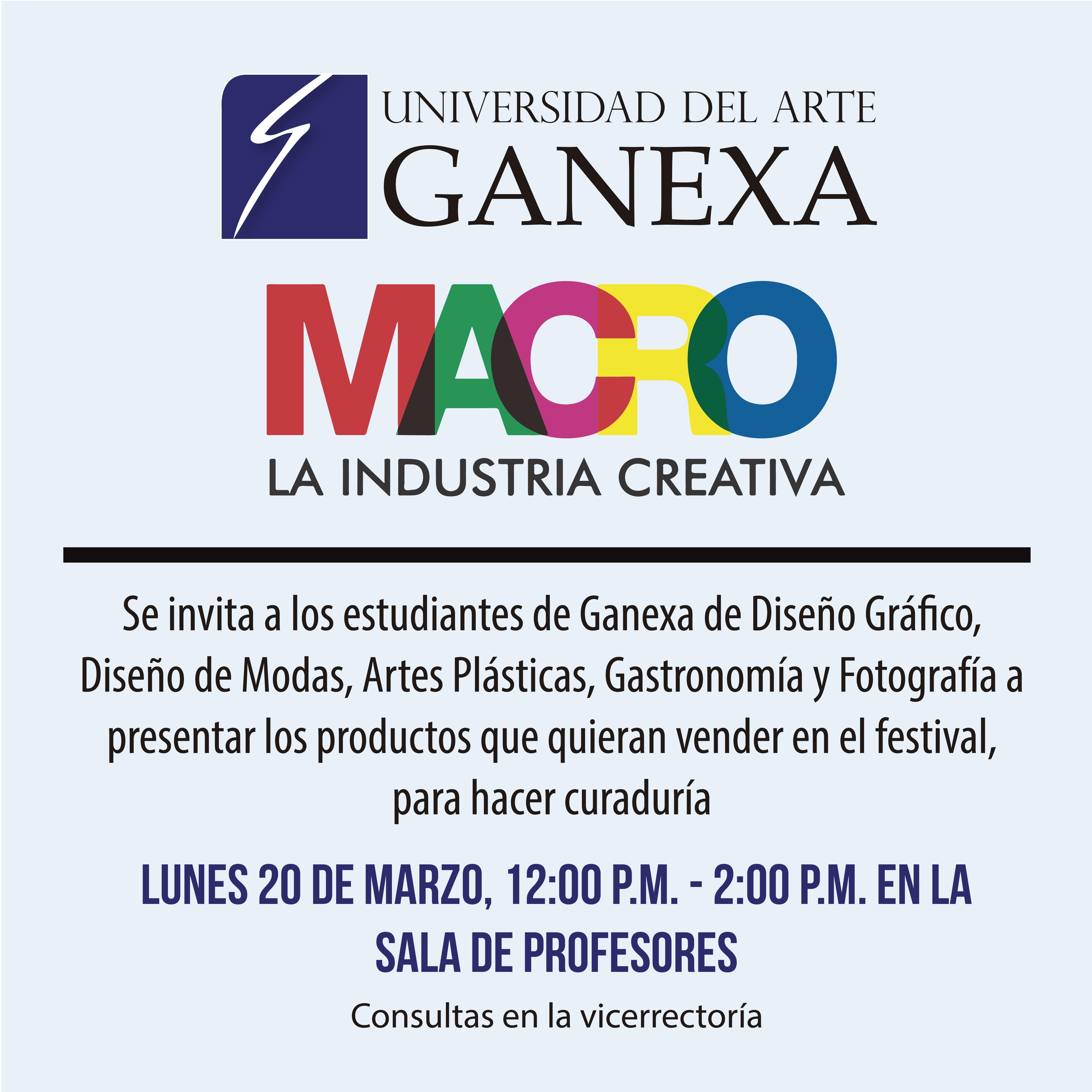 Arte panama universidad del arte ganexa for Universidad de arte