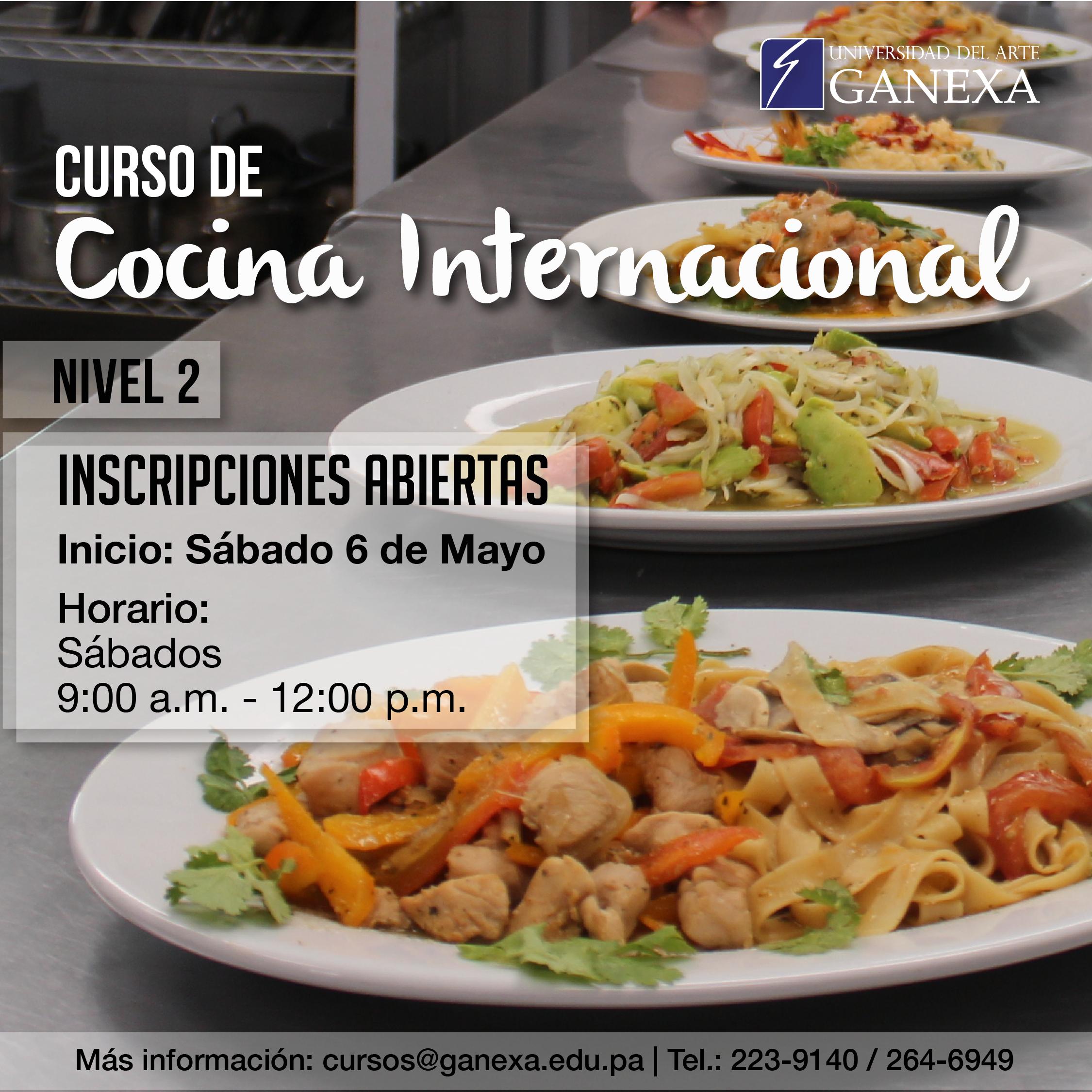 Ya inician los cursos libres en ganexa universidad del for Cocina de investigacion